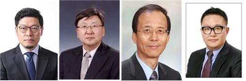 공학한림원이 일진상과 해동상 수상자를 선정해 발표했다.(왼쪽부터)