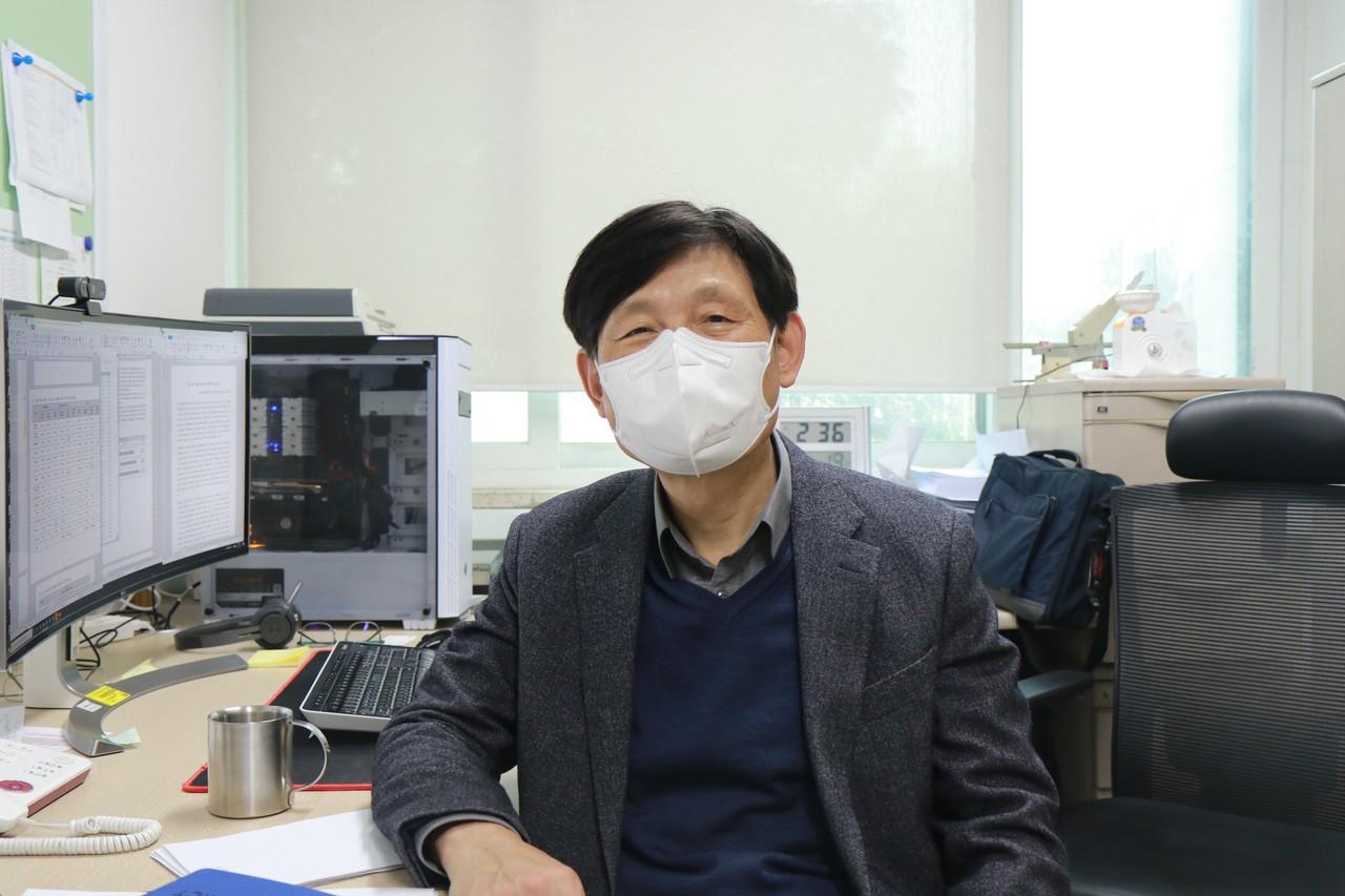 전기원 단장은 탄소중립 실현을 통해 기후변화에 대한 걱정 없는 세상을 만들고자 한다.[사진=이원희 기자]